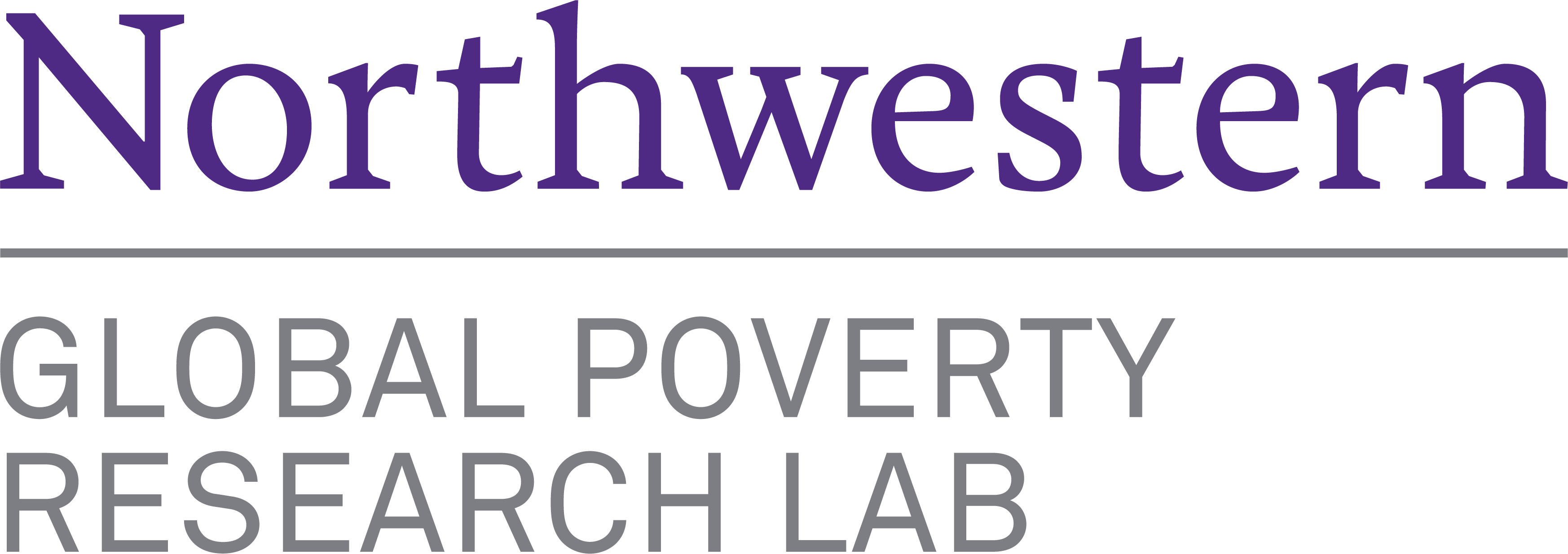 Global Poverty Research Lab Logo