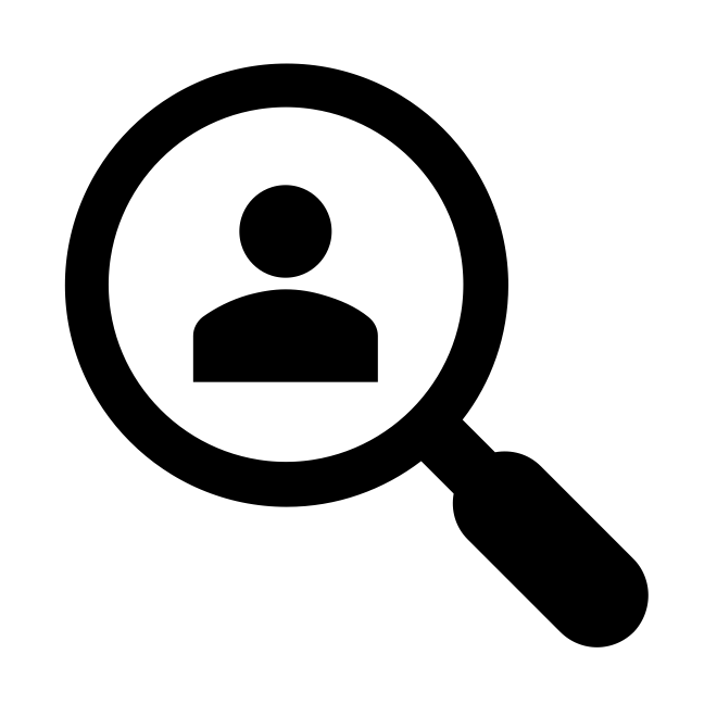 Screen with Words Icon