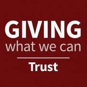 Giving what we can trust