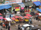A marketplace in Hyderabad