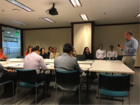 Dean Karlan presents at the Graduating the Ultra-Poor seminar in the Phillipines