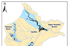 Figure 1: Communities contacted in COVID-19 survey, July 2020