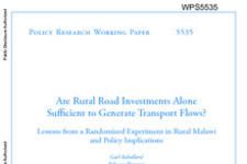 Access to Transport in Rural Malawi | Innovations for