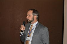 Dylan Ramshaw presenting at the 2017 IATT Symposium and Members Meeting in Lusaka, Zambia