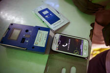 Mobile phones used for digital payments