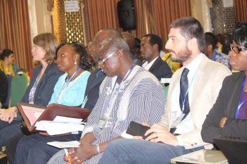 IPA staff in attendance at the financial inclusion and agriculture conference in Burkina Faso