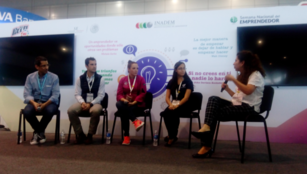A panel discusses the entrepreneurship evaluation in Mexico