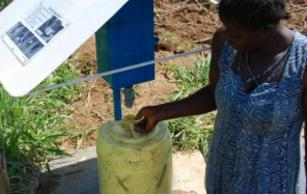 Chlorine dispensers in Kenya