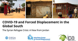 Thumbnail of Title Slide: COVID-19 and Forced Displacement in the Global South Webinar on December 7