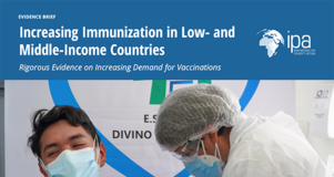 Thumbnail Image of First Page of Evidence Review Brief about Increasing Immunizations in Low- and Middle-Income Countries