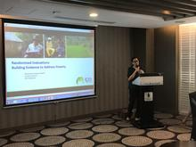 IPA Philippines Country Director, Nassreena Sampaco-Baddiri, presents.
