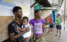 Young men in Liberia