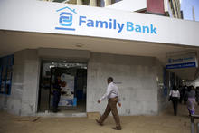 A local bank in rural Kenya