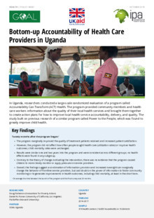 Health Publications | Innovations for Poverty Action