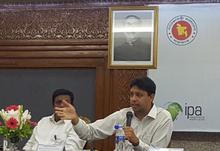 IPA Bangladesh & Professor Mushfiq Mobarak in Prime Minister's Office