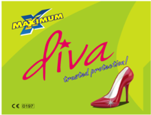 Maximum Diva Female Condom ad
