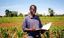 Agriculture researcher in Kenya