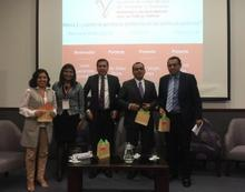 REDPERUME presenters after the conference