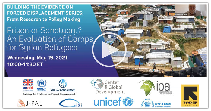 Building the Evidence on Forced Displacement