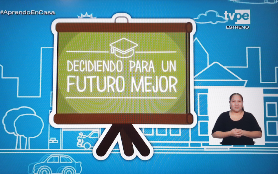 Can a Telenovela Help Peru's Kids Stay in School During COVID-19?