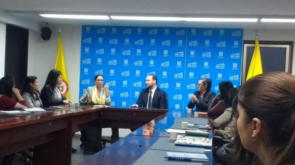 IPA Colombia signs an MoU with the Bogota Department of Social Integration